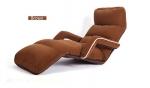 Кресло-трансформер с подлкотниками. Кофейное