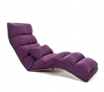 Кресло-трансформер удлиненное. Фиолетовое