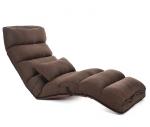 Кресло-трансформер удлиненное. Кофейное